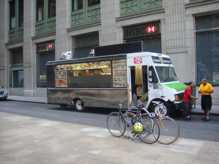 Camión de comida en Nueva York