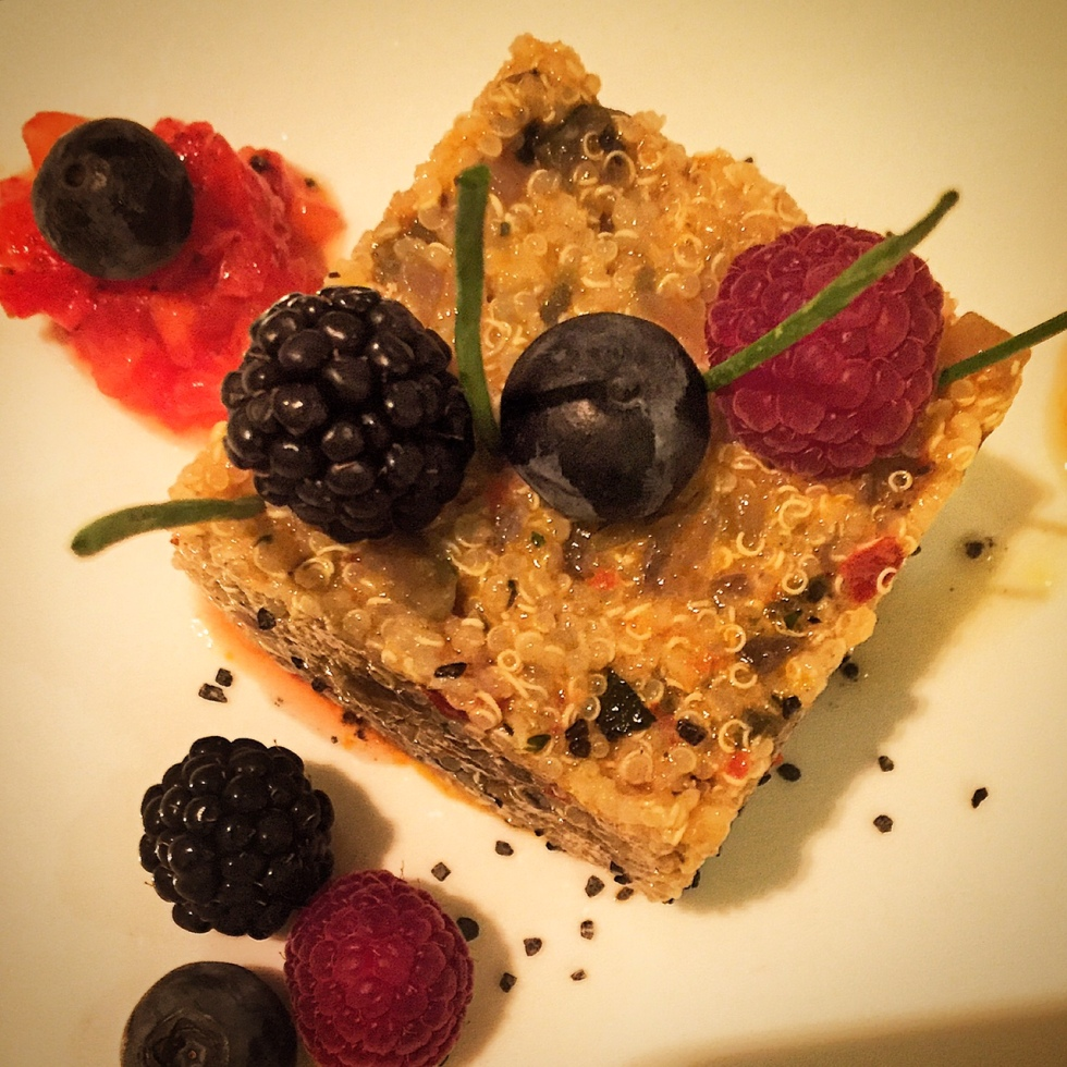 Ensalada de quinoa de La Candelita